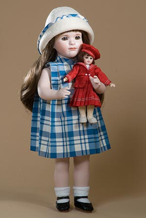 Birdie and her Bluette by The Lawton Doll Company